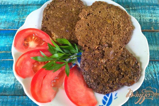 фото рецепта: Оладьи из говяжьей печени